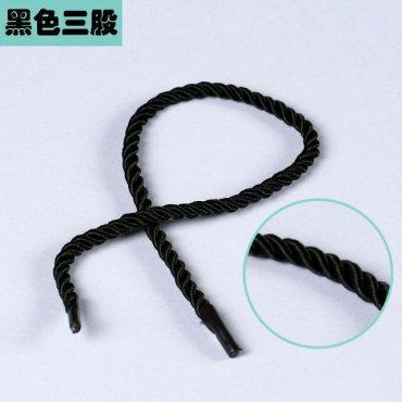 黑色三股绳