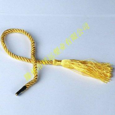 黄色无帽流苏绳