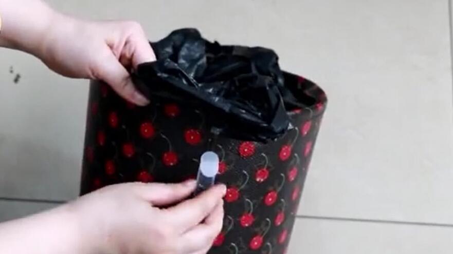 塑料qy188.vip千亿国际用在垃圾筐上